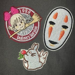 Studio Ghibli Iron on Patches